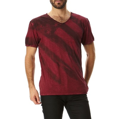 BEST MOUNTAIN T-shirt - bordeaux