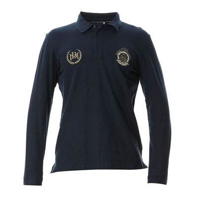 BEST MOUNTAIN Polo - bleu marine