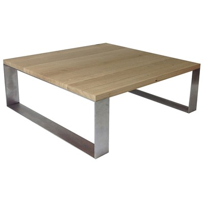 Table basse profil 100 - beige