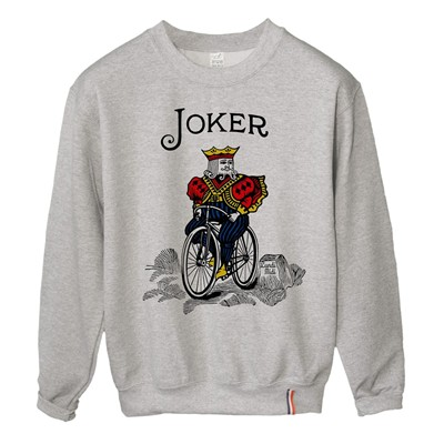 LUNDI MIDI Joker - Sweat-shirt - gris