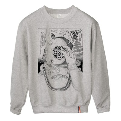 LUNDI MIDI Scaphandrier - Sweat-shirt - gris