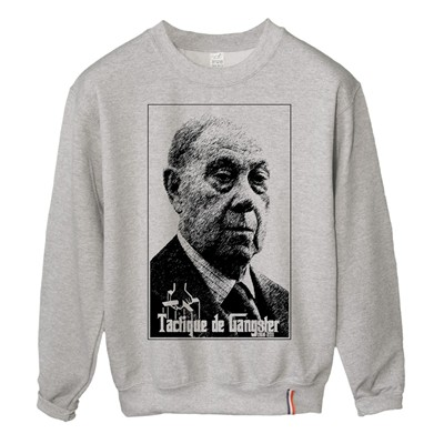 LUNDI MIDI Gangster - Sweat-shirt - gris
