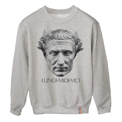 LUNDI MIDI César - Sweat-shirt - gris