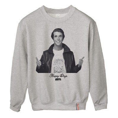 LUNDI MIDI Fonzie - Sweat-shirt - gris