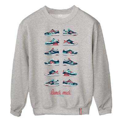 LUNDI MIDI Shoes - Sweat-shirt - gris