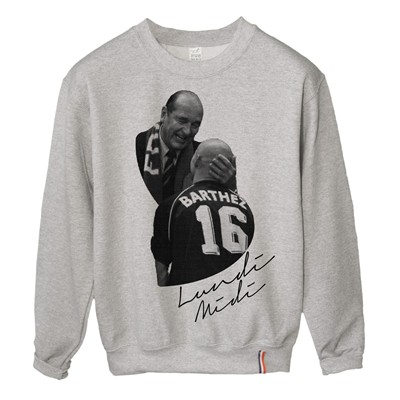 LUNDI MIDI Chirac - Sweat-shirt - gris