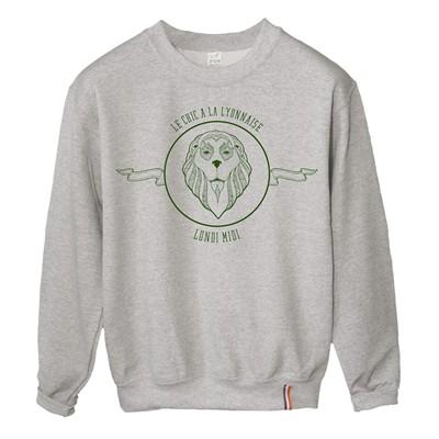 LUNDI MIDI Lion - Sweat-shirt - gris