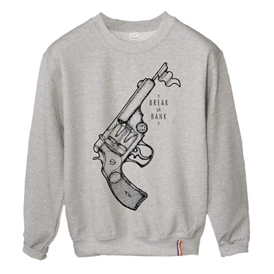 LUNDI MIDI Flingue - Sweat-shirt - gris