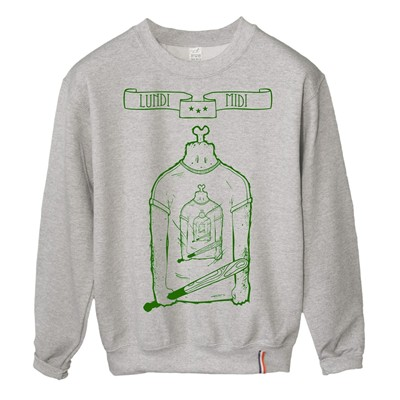 LUNDI MIDI Inception - Sweat-shirt - gris