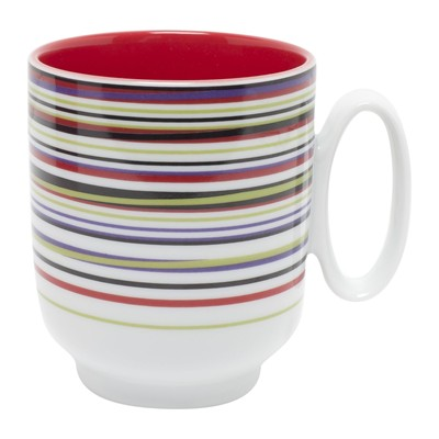 GUY DEGRENNE Hulahoop cerise - Mug - rouge