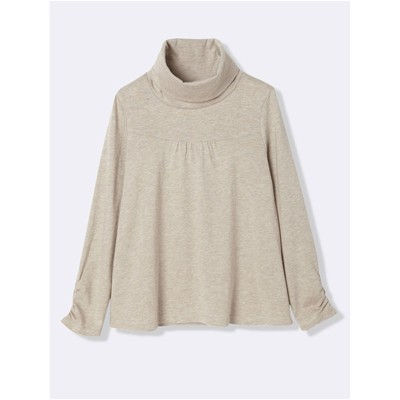 CYRILLUS Sous-pull - taupe