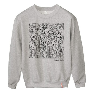 LUNDI MIDI Street - Sweat-shirt - gris