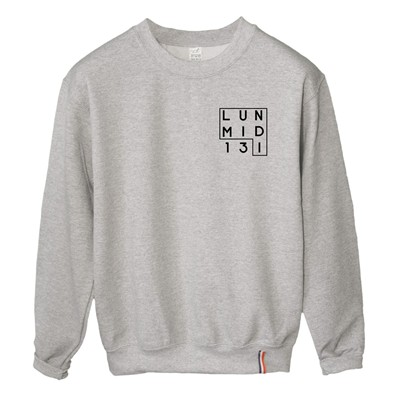 LUNDI MIDI Logo - Sweat-shirt - gris