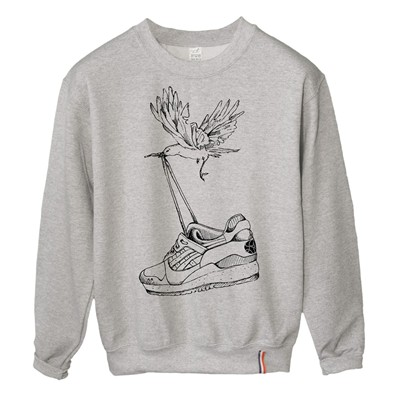 LUNDI MIDI Sneakers - Sweat-shirt - gris