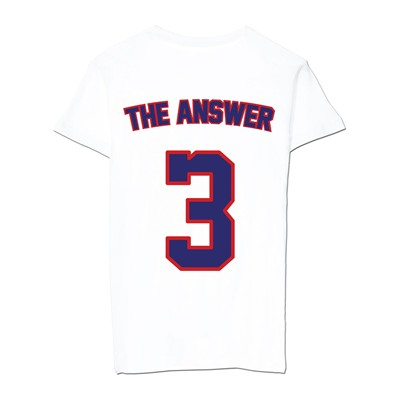 QUATRE CENT QUINZE The Answer - T-shirt - blanc