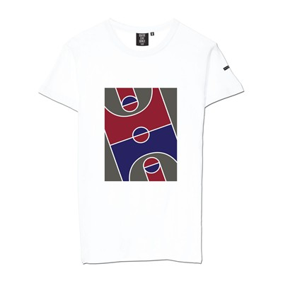 Basket Playground - T-shirt - blanc