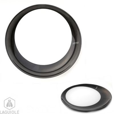 Assiette plate - anthracite