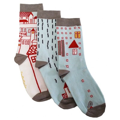 City - Chaussettes - multicolore
