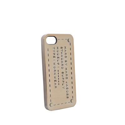 MARC BY MARC JACOBS Coque pour iPhone 5 - doré