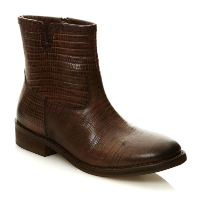 Country - Bottines en cuir - marron