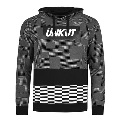 ÜNKUT Dots - Sweat à capuche - noir