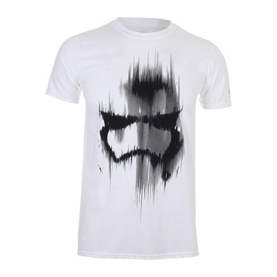 Trooper Mask - T-shirt - blanc