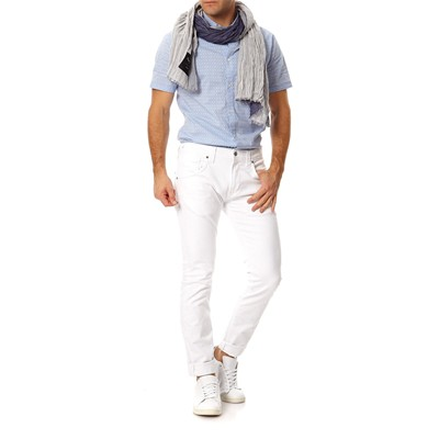 PEPE JEANS LONDON Zinc - Jean regular - blanc