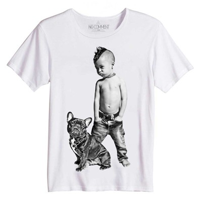 rock kid - Top/tee-shirt - blanc
