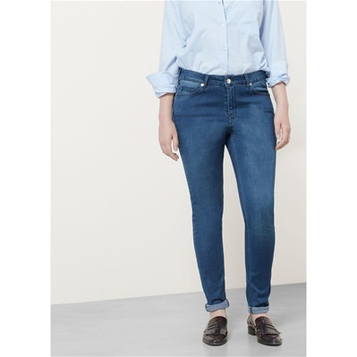 Silvia - Jean slim - denim bleu