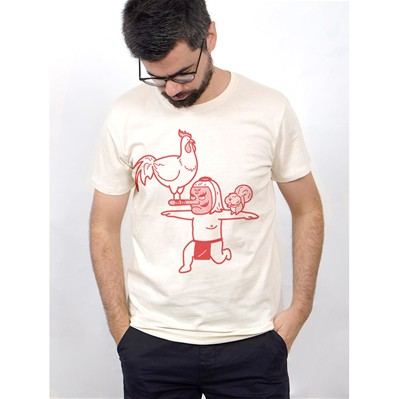 MONSIEUR POULET T-shirt - naturel