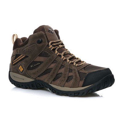 Columbia Redmond mid waterproof - chaussures de sport - marron