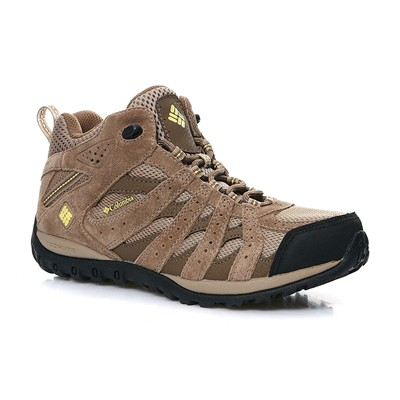 Columbia Redmond mid waterproof - chaussures de marche - marron