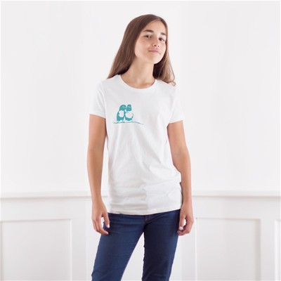 FRENCH DISORDER Les inséparables - T-shirt - blanc