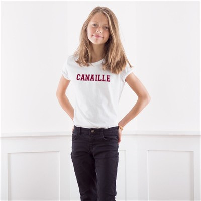 FRENCH DISORDER Canaille - T-shirt - blanc