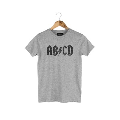FRENCH DISORDER ABCD - T-shirt - gris
