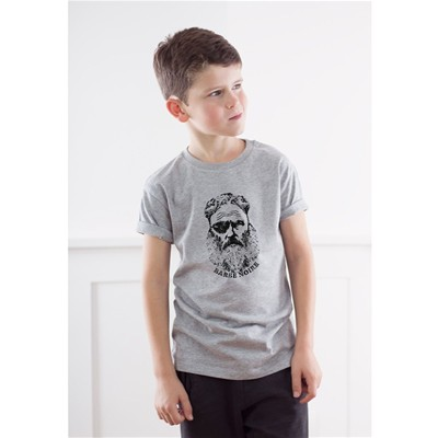 FRENCH DISORDER Barbe Noire - T-shirt - gris