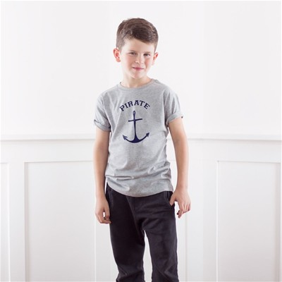 FRENCH DISORDER Pirate - T-shirt - gris