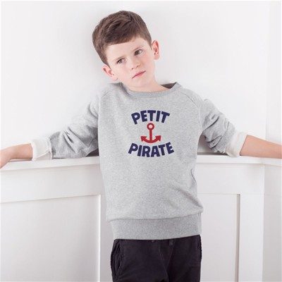 FRENCH DISORDER Petit Pirate - Sweat - gris