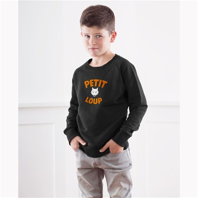 FRENCH DISORDER Petit Loup - Sweat - noir