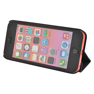 THE KASE iPhone 5C - Coque en bois de rose - noir