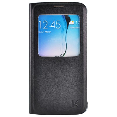 THE KASE Galaxy S6 - Etui - noir