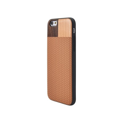 THE KASE iPhone 6 - Coque en bois - noir