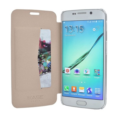 THE KASE Galaxy S6 Edge - Coque - or