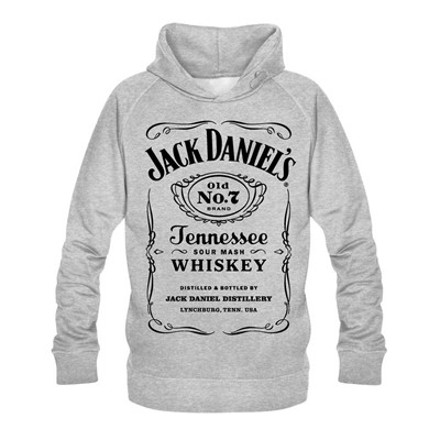 NO COMMENT PARIS jack daniels - Sweats - gris clair