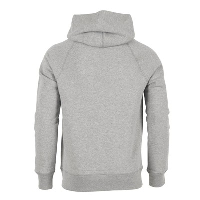 ARTECITA Moustache - Sweat à capuche - gris chine