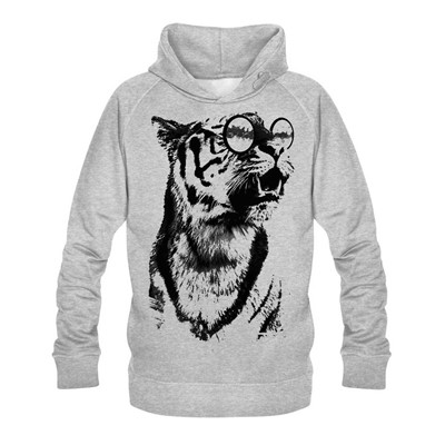 No Comment Paris intellectual panther - Sweat - gris clair