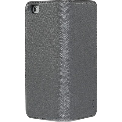THE KASE iPhone 6 - Coque clapet - argent