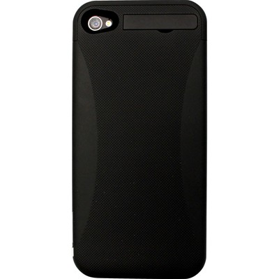 THE KASE iPhone 4/4S - Coque avec batterie 2400 mAh - noir