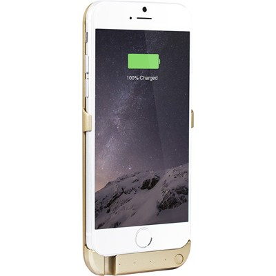 THE KASE iPhone 6 - Coque batterie 2800 mAh - or