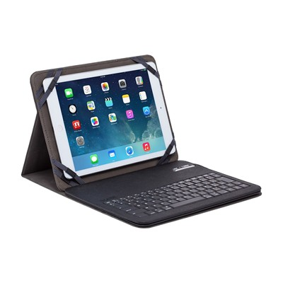 THE KASE Tablette - Clavier azerty bluetooth universel avec clapet - noir